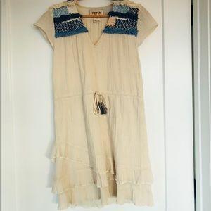 Anthropologie Crinkled Cotton Dress - NEW!